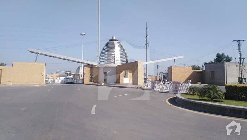 8 Marla Residential Plot Situated In Bahria Orchard For Sale