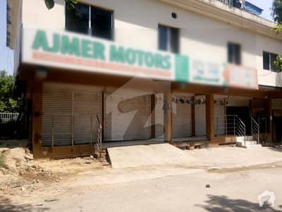 CDA Class III Shopping Center G 7 Islamabad Area 1500 Sq Ft 5 Shops On Rent 15 Lac