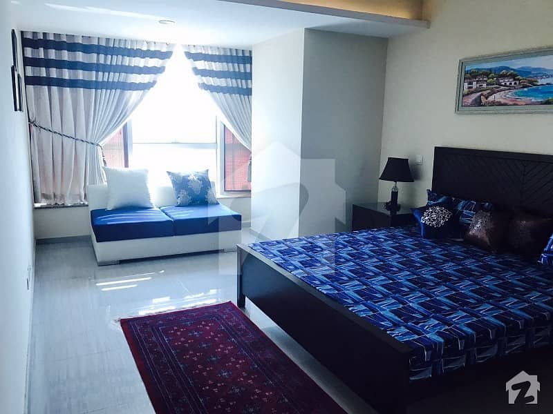 2 Bed Rooms Furnished Apartment Is  Available For Rent