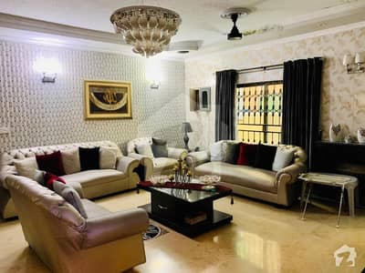 Fully Furnished 1 Kanal Villa With Luxury Interior In Punjab Coop Housing Society