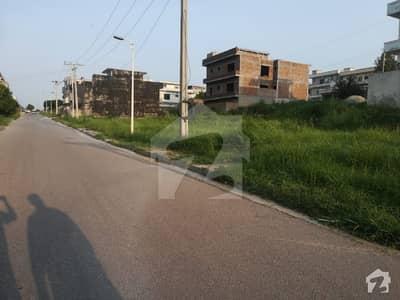 12 Marla Residential Plot For Sale In Zaraj Scheme  Sector B