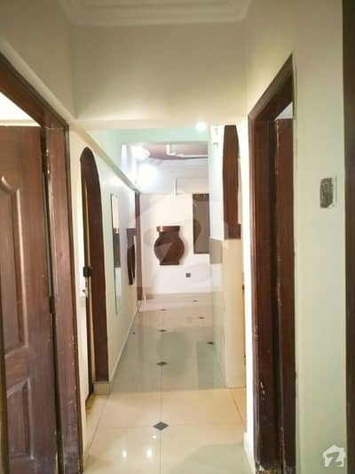 Flat For Sale Corner Side West Open Prime Location Other Facilities Are Available