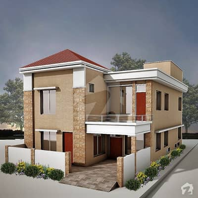 Prime Location Three Sided Open Corner Lower Half Structured House For Urgent Sale