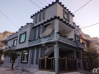 6 Marla Corner Double Unit House Available For Sale In New Lalazar Near Foundation University