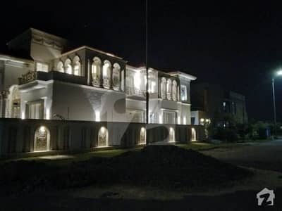 23 Corner Swimming Pool Fully Basement Faisal Rasool Design Spanish Bungalow For Sale in the Best Location of DHA Phase 7 150 feet Road Direct Approach to Airport and Ring Road