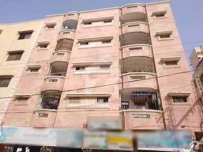 Elegant Apartment Ali Palace Road, 1100 Square Feet Flat For Sale In Qasimabad Hyderabad