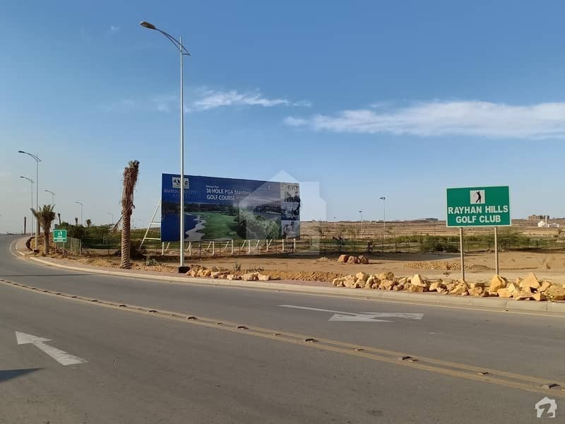 500 Square Yards Residential Plot Is Available For Sale In Bahria Town Karachi