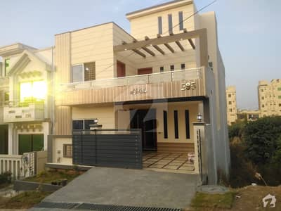 Brand New 7 Marla Triple Storey House For Sale In Cbr Town Phase 1 C Block Islamabad