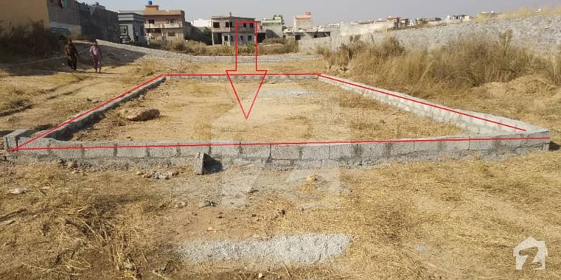 5 Marla Corner Plot For Sale In Shaheen Town Phase II Islamabad