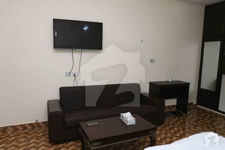 One Bed Furnished Room Available For Rent In Model Town Proper