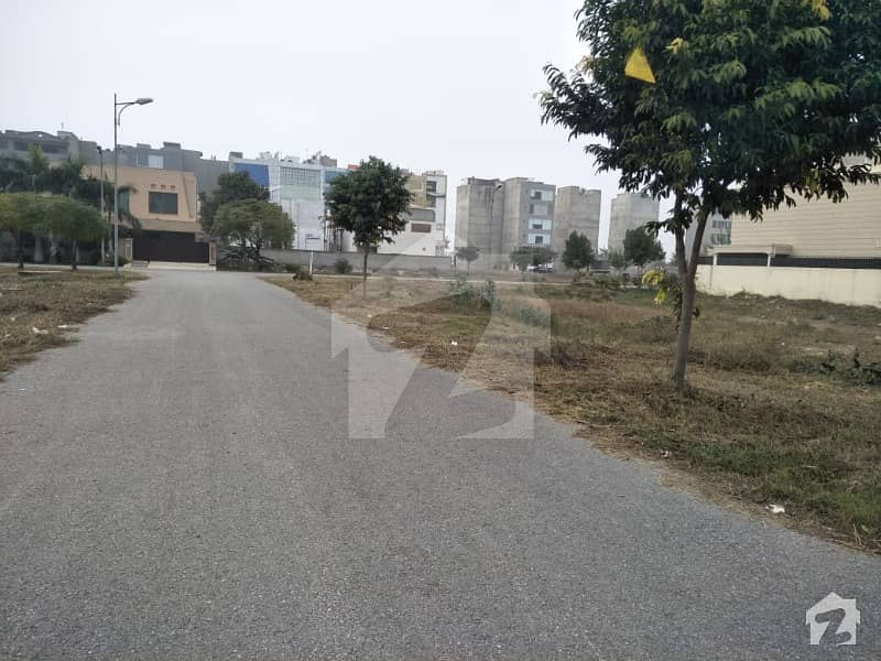 F Block 2 Kanal Prime Location Plot For Sale In Phase 6 Dha Lahore