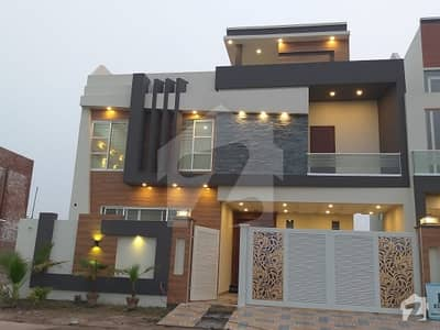 10 Marla Brand New Spanish House With Solid Construction At Hot Location Near To Masjid And Main Park