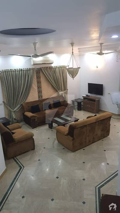 DHA Lahore 12 Marla  Fully Furnished Corner House With 100 Original Pics Available For Rent