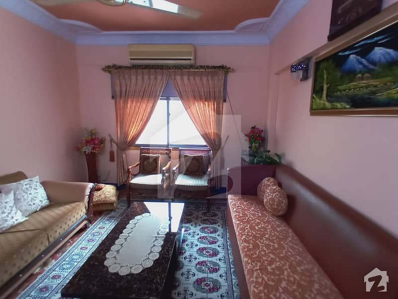 1050  Square Feet Flat In Central Abid Town For Sale