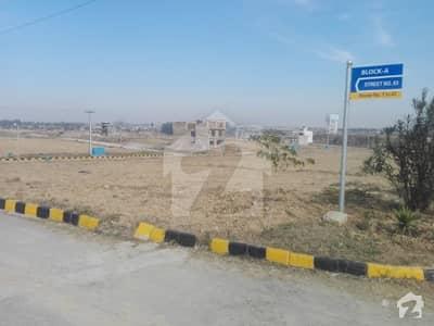 یونیورسٹی ٹاؤن اسلام آباد میں 5 مرلہ رہائشی پلاٹ 12.5 لاکھ میں برائے فروخت۔