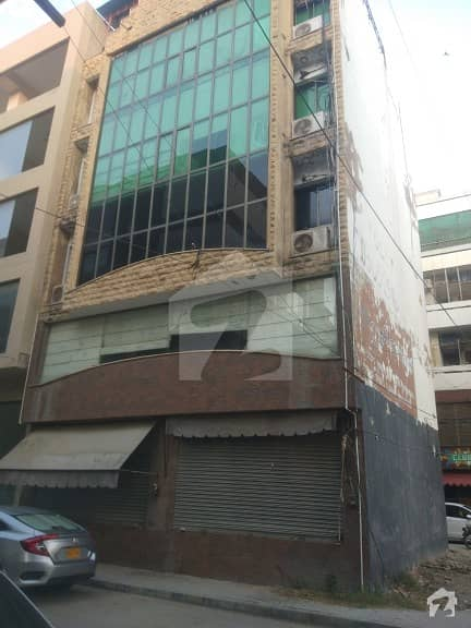 Building For Sale In Zamzama Commercial With Rental Income, Dha Phase V