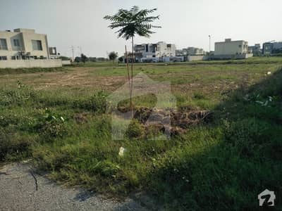F Block 1 Kanal Good Location Plot For Sale In Phase 6 DHA Lahore