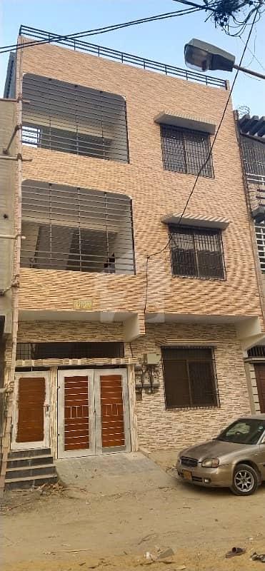 ایم بی سی ایچ ایس ۔ مخدوم بلاول سوسائٹی کورنگی کراچی میں 6 کمروں کا 5 مرلہ مکان 2.2 کروڑ میں برائے فروخت۔