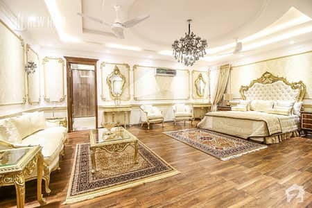 2 Kanal House Is Available For Sale With Swimming Pool Theater Villa