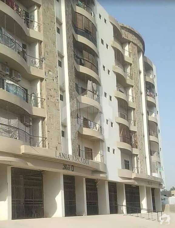 لینیا آرکیڈیا جناح ایونیو کراچی میں 2 کمروں کا 5 مرلہ فلیٹ 72 لاکھ میں برائے فروخت۔