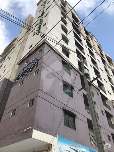 کینٹ ویوٹاور جناح ایونیو کراچی میں 2 کمروں کا 4 مرلہ فلیٹ 78 لاکھ میں برائے فروخت۔