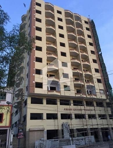 Extra Luxury Aman Grand Tower Flat Is Available For Sale In Golimar Gulbahar
