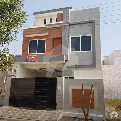 Brand New Corner Double Storey 4.15 Marla House For Sale In Jeewan City Phase 3 Sahiwal