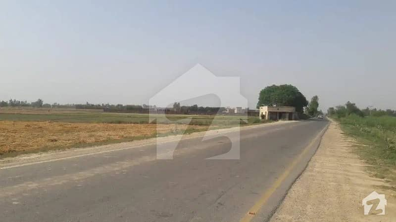16 Kanal Farm House Land Main Carpeted Road In Front Of Developed Farm House Society Barki Road Lahore