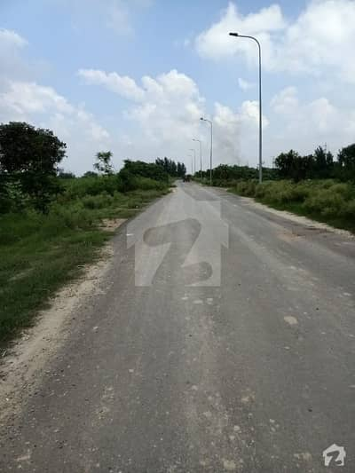 One Kanal Corner F 1235 Plot All Dues Clear For Sale In Dha Lahore