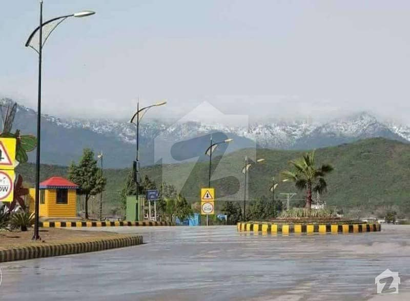8 Marla Best For Living Top Location Plot For Sale Sector J