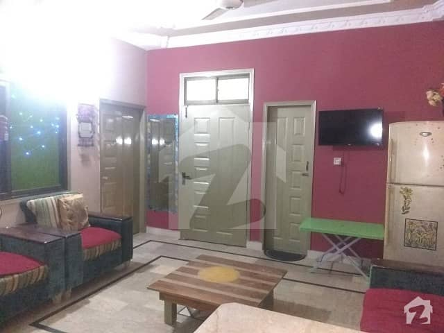 Flat Of 850  Square Feet In Shah Faisal Town For Sale
