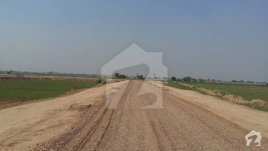 10 Marla Residential Plot 75 Feet Road Back  Near Main Commercial For Sale At LDA City Phase 1 Block H  At Prime Location