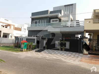 12 Marla Facing Park Brand New Modern Design Lavish Bungalow For Sale