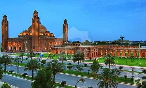 We Offered 5 Marla Commercial Plot Reasonable Price On Best  Location In  Bahria Town Lahore