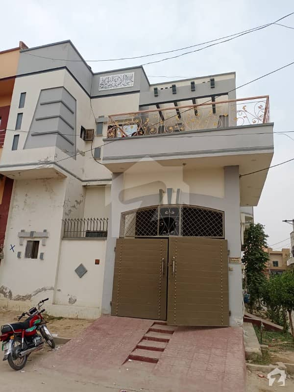 3 Marla House In Stunning Bilal Garden - Lower Canal Road Is Available For Sale