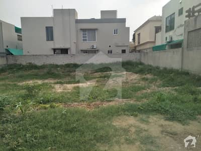 D Block 1 Kanal Good Location Plot For Sale In Dha Phase 6 Lahore