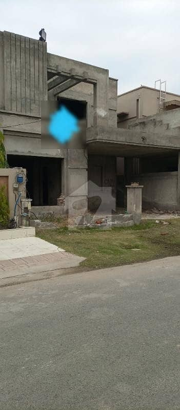 8 Marla Gray Structure House Is Available For Sale In Divine Gardens Lahore