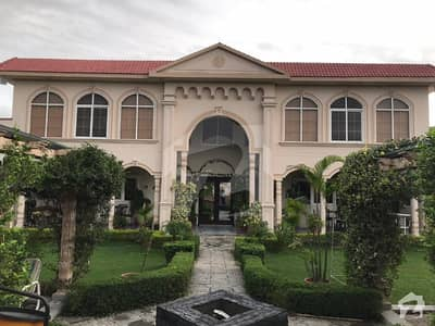Park Road 14 Kanal Luxury Farm House With 10 Kanal Extra Land Is Available Sale