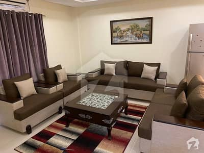 Brand New 1 Bed Fully Furnished Apartment Available For Rent In Bahria Heights 1