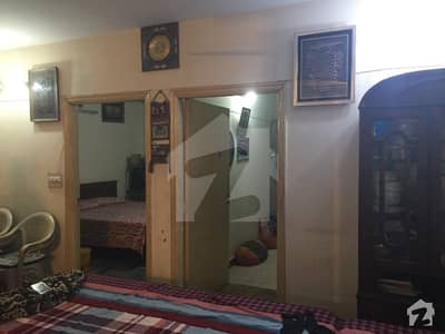 1360  Square Feet Flat Up For Sale In New Muslim Town