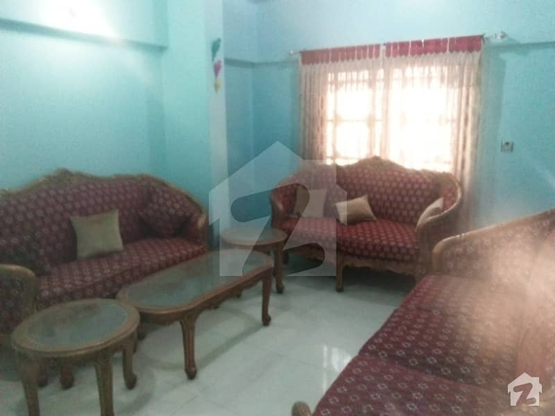 Fully Furnished Flat For Sale: Main Tariq Road Liberty 1600 Sq Feet