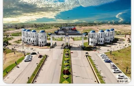 5 Marla Residential Plot File Is Available For Sale In Blue World City