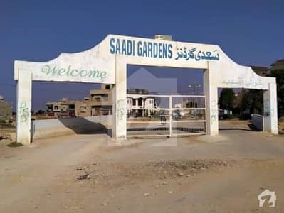 120 Sq. Yd Saadi Garden (Block-2).