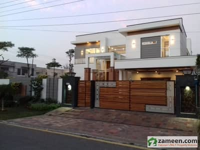 32 Marla Double Unit Beautiful Corner House Is Available For Sale In EME Society
