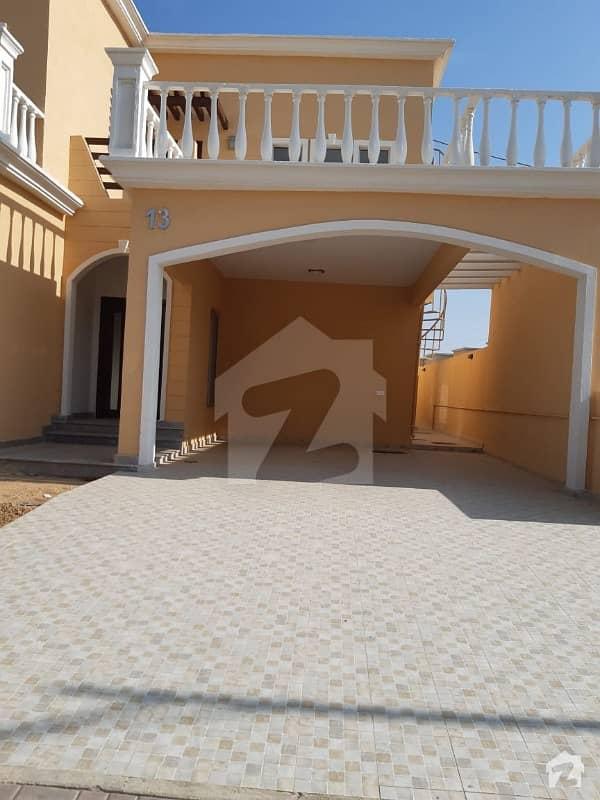 Semi Corner Sports City Villa Available For Sale In Precinct 35