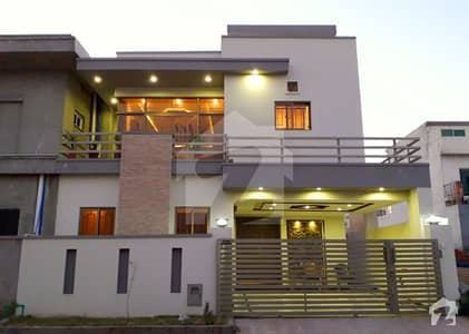 Beautiful 7 Marla Brand New House For Sale Bahria Town Phase 8 Usman Block Rwp