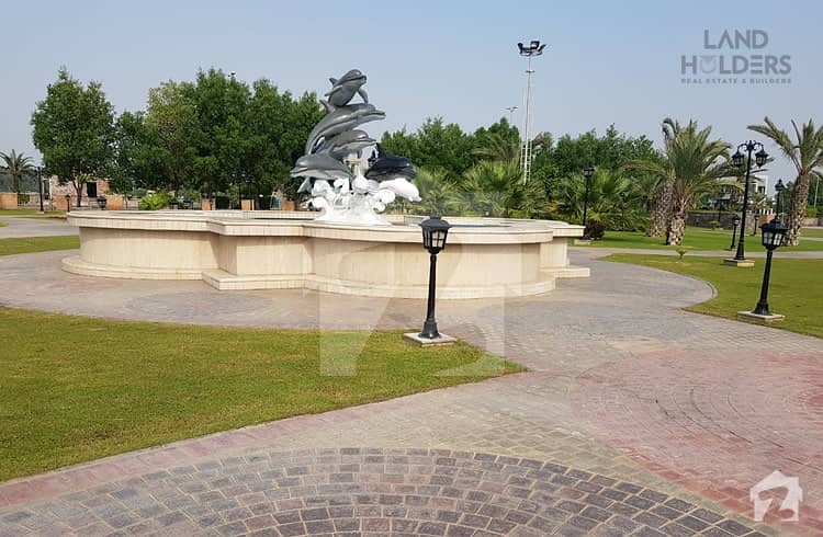 10 Marla Full Developed Plot For Sale In G6 Block Phase 4 Bahria Orchard