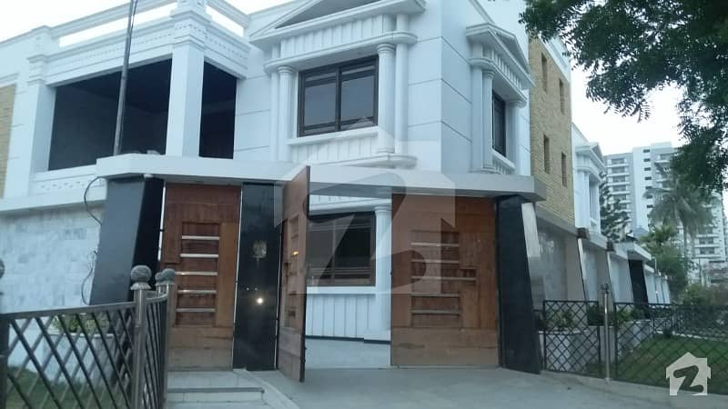 Brand New Luxury Double Storey House For Sale 750 Sq Yd 8 Bed Block H
