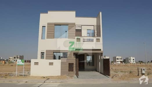 Double Storey 4 Beds Villa On Easy Installment In Bahria Town Karachi