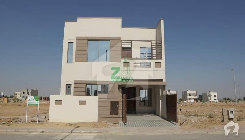 Double Storey 4 Beds Villa On Easy Installment In Bahria Town Karachi
